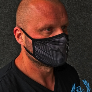 Pit Bull Westcoast Mondmasker 'Fight The Virus'