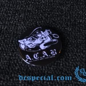 ACAB Button 'ACAB Pig'