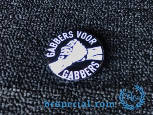 Hardcore Button 'Gabbers Voor Gabbers'