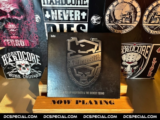 Hardcore 4 Life CD 'Mixed By Nosferatu & The Sickest Squad'