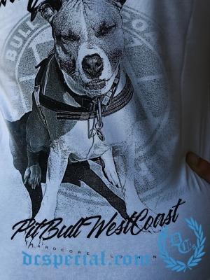 Pit Bull Westcoast Dames T-shirt 'Lycra So Cal'