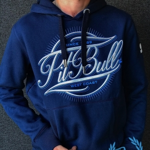 Pit Bull Hooded Sweater 'IR Dark Navy'