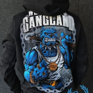 Pit Bull Hooded Sweater 'Gangland Charcoal'