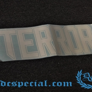 Terror Car window sticker 'Terror'