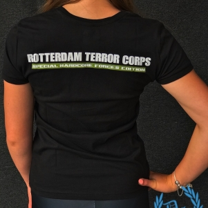 Rotterdam Terror Corps Ladies T-shirt 'Woodland'