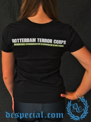 Rotterdam Terror Corps Ladies T-shirt 'Woodland'