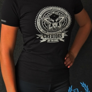 Neophyte Dames T-shirt 'Creators Of The Core'