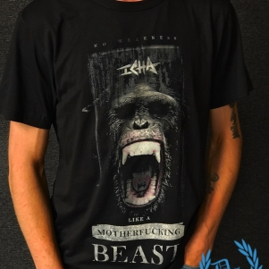 Neophyte Records T-shirt 'Icha - Like A Beast'