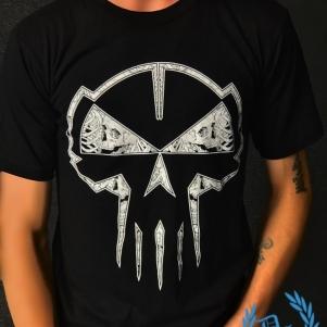 Rotterdam Terror Corps T-shirt 'Skulls & Skeletons'
