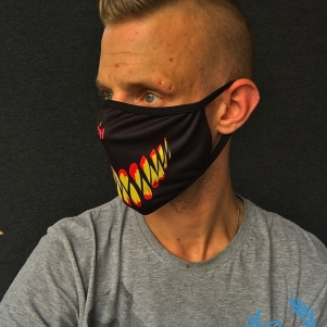 Chaotic Hostility Mouth Mask 'Smile'