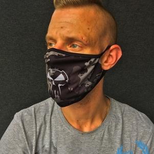Rotterdam Terror Corps Mouth Mask 'RTC Camo'