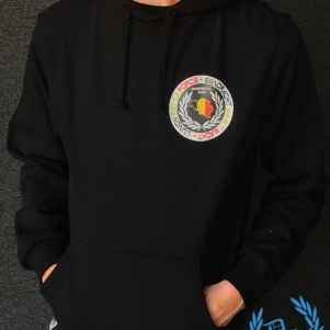 België Hooded Sweater 'Eendracht'