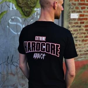 Hardcore T-shirt 'Extreme Hardcore Addict'