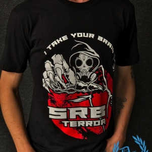SRB T-shirt 'I Take Your Brain'