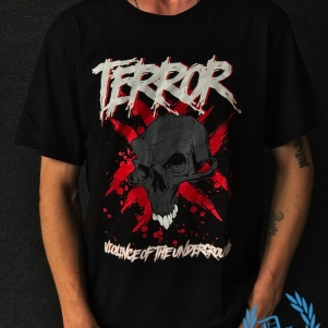 Terror T-shirt 'Violence Of The Underground'