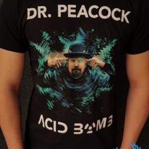 Dr. Peacock T-shirt 'Acid Bomb'