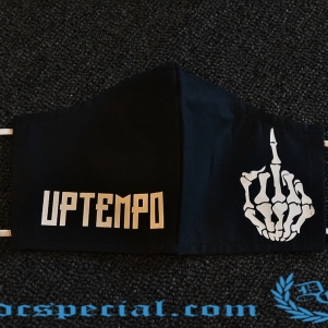 Uptempo Mouth Mask 'F@ck You'