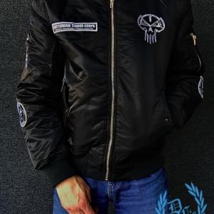 Rotterdam Terror Corps Bomber Jacket 'Urban Camo'