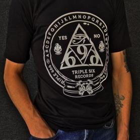 Triple Six Records T-shirt '666'