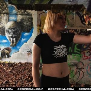Uptempo Hardcore Ladies Croptop 'Uptempo Hardcore'