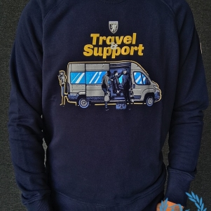 PGwear Sweater 'Travel Support'