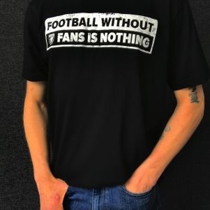 PGwear T-shirt 'Nothing Without Fans'