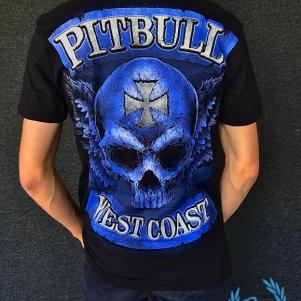 Pit Bull Westcoast T-shirt 'Skullwings Black'