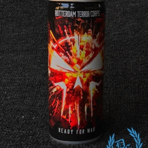 Rotterdam Terror Corps Energy Drink 'Ready For War'