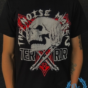 Terror T-shirt 'The Noisemakers'