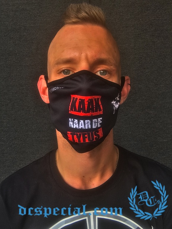 Dissoactive Mouth Mask 'Kaak Naar De Tyfus'
