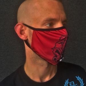 DRS Mondmasker 'DRS Red/Black'