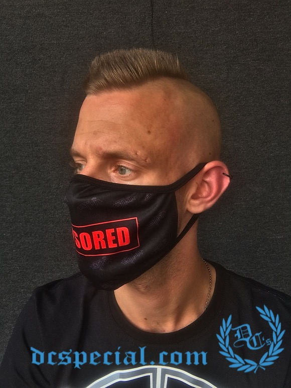 Estasia Mouth Mask 'Censored'