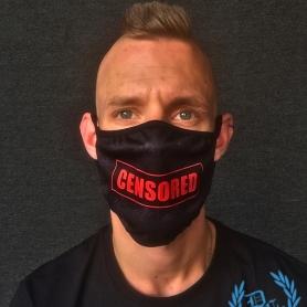 Estasia Mondmasker 'Censored'