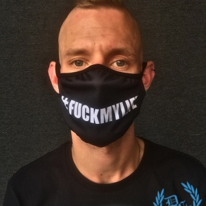 Hardcore Mondmasker '#F@CKMYLIFE'