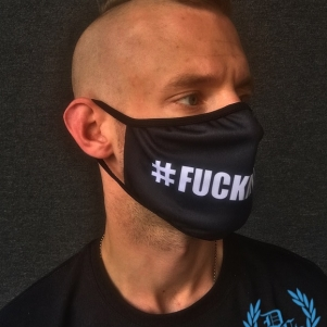 Hardcore Mouth Mask '#F@CKMYLIFE'