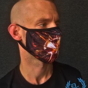 Rotterdam Terror Corps Mondmasker 'Ready For War'