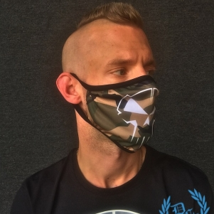 Rotterdam Terror Corps Mouth Mask 'RTC Camo'