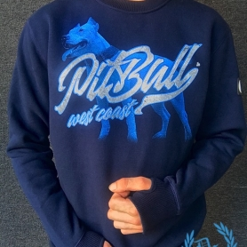 Pitbull West Coast Sweater 'Red Nose II'