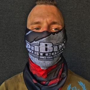 Pit Bull Westcoast Bandana 'Polska Flaga'