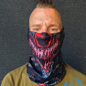Pit Bull Westcoast Bandana 'Terror Clown'