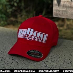 Pit Bull Westcoast Cap 'Boxing Logo Red'