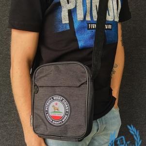 Pit Bull Westcoast Hip Bag 'Circal Dog Grey'