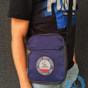 Pit Bull Westcoast Hip Bag 'Circal Dog Navy Blue'