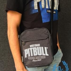 Pit Bull Westcoast Hip Bag 'Old Logo Grey'