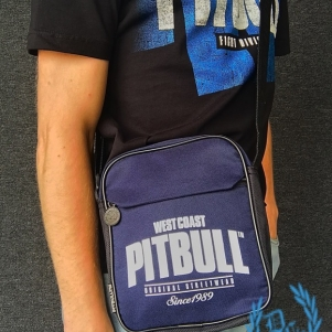 Pit Bull Westcoast Hip Bag 'Old Logo Navy Blue'
