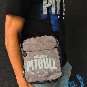 Pit Bull Westcoast Hip Bag 'Old Logo Light Grey'