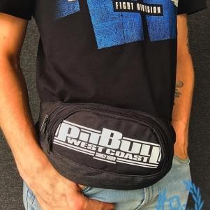 Pit Bull Westcoast Waist Bag 'Boxing Black'