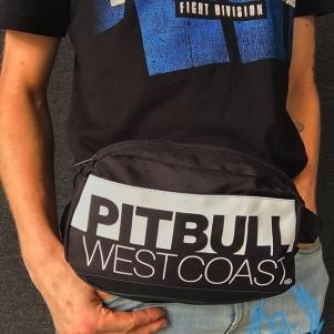 Pit Bull Westcoast Hip Bag 'TNT Black/White'