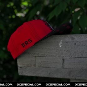 DRS Snapback 'DRS Black/Red'