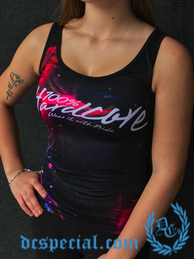 100% Hardcore Ladies Top 'Spaceskull'